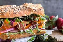 Sandwiches / The convenience of a sandwich: so versatile and portable.... well sometimes not so portable.
