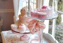 TAART / roze taart