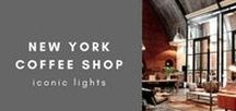 New York Coffee Shop / The ultimate New York Coffee Shop home decor inspiration by Iconic Lights