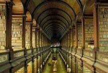 """Books / """"Zawsze wyobrażałem sobie Raj pod postacią biblioteki."""" Jorge Luis Borges"""