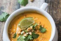 Soups / Soups... hot hot soups!
