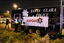 August 27, 2014 DUI Checkpoint / Checkpoint Results: 580 cars entered Checkpoint + 195 Drivers contacted + 2 arrested for DUI + 3 cited for suspended license + 4 cars towed = SAFE ROADS! A special thanks to West Valley Mission College Police and Santa Clara County Sheriff's Office for their support at the Checkpoint! / by Santa Clara Police Department