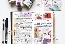Bullet journaling / Ways to be proud of your work