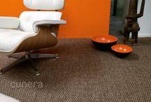 Cunera & Grof sisal tapijt / Een grof gestructureerd sisal tapijt geeft ieder interieur een ambachtelijke uitstraling. Dit natuurlijke tapijt geeft een boost aan elke kamer op de vloer.