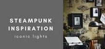 Steampunk Inspiration / A post-apocalyptic future where steam power has regained mainstream use.