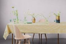 DAISY / In the 1980's Lisbeth Bennedsen designed MARGUERIT for Georg Jensen Damask, relaunched as DAISY in 2015