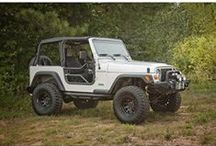 TJ Jeep Wrangler Mods 1997-2006 / Find the best TJ Jeep Wrangler mods, parts and accessories at the best possible prices for your Wrangler. As Wrangler owners ourselves we care about our customers and we want you to be able to find high quality Jeep modifications, Jeep parts and Jeep Accessories at the best possible prices. Browse popular TJ Jeep Wrangler categories like TJ armor, TJ bumpers, TJ exterior accessories, TJ interior accessories, TJ lift kits, TJ Fender Flares, TJ Rock Guards, TJ Lighting, and a whole lot more!