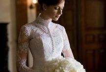 Long sleeve dress / Wedding Dress