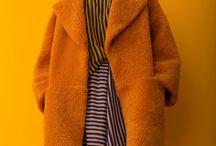 Orange color / Orange clothes / accessory