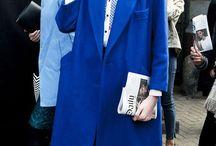 Blue color / Blue clothes / accessory