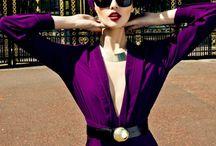 Purple color / Purple clothes / accessory