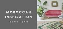 Moroccan Inspiration / Morocco Morocco, everything from Aztec prints, carved wood and lanterns