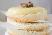 Lemon Curd / A January ritual - lemon curd is a perfect store cupboard staple for spring eating.  A victoria sponge cake with a lemon curd filling and icing sprinkled with primrose petals makes a perfect easter cake.