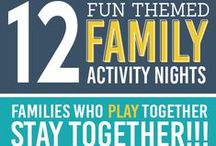 Family Activities to Create Healthy Families / Engaging in family activities help build a stronger family bond. Try these fun activities to help you build healthy family relationships!