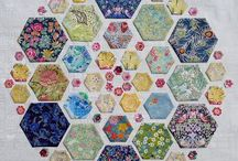 Hexagons and paper piecing