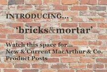 Bricks & Mortar / BRINGING TO YOU A COLLECTION OF OUR 'BRICKS & MORTAR' POSTS AS WELL AS DESIGN THAT INCLUDES THE BELOVED OLD BRICK WALL LOOK & FEEL