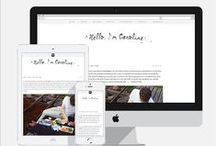 [B. Design] / Ispiration for background design on blog