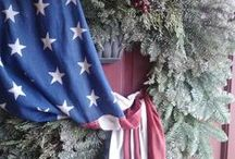 Patriotic Christmas Ideas / by Our Heroes' Tree Program