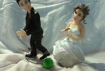 modelagem em buscuit / Topo de bolo