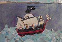 pirate / les pirates et la mer