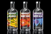 Absolut Vodka - best ads in the world / Absolut(ely) the best / by Inger Lauritzon-Kalpala