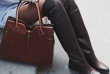 Leather boots / Bottes en ville