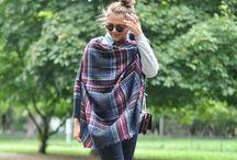 Scarf / Современная манера носить шейный платок и шарф_2016