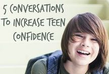 How to Help Your Teen Build Confidence / Helping your teen discover their self confidence is an important job of a parent.
