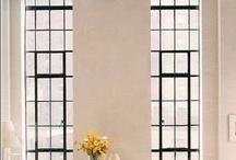 steel windows/doors / by Elza Vorster