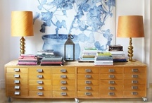 cupboards/chest of drawers / by Elza Vorster