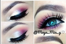 Make up / #make up, #eyes, #beauty, #tricks, #women