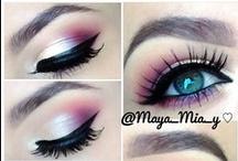 Make me up / #make up, #eyes, #beauty, #tricks, #women