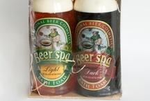 Beer & Wine SPA / Kosmetyki z ekstraktami winorośli winnej, drożdży piwnych oraz chmielu. Cosmetics with wine grape extracts, brewer's yeast, and hops.