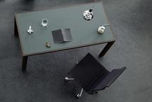 Räuchereichen-Tische / smoked oak table variations
