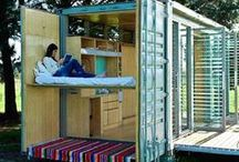Shipping Container House / All the cute, nice container houses I can find... / by TinyHouseMeetup