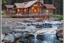 Rustic -N- Log Cabin