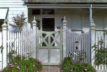 Fences and Gates / Enjoy my board, but please be considerate and limit your pins to 5 per visit. / by Renee Williams
