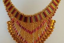 beaded jewellery / necklaces, bracelets, earrings and more by Little Beader