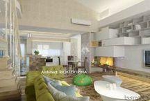 Дизайн проект интерьера квартиры 205 m2 / Дизайн-проект интерьера квартиры в стиле жилого минимализма.