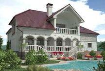Загородный дом в Чехии / Индивидуальный проект загородного дома в Праге, Чехии.  Архитектор Рихтер Ирина