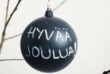 Merry, Merry Christmas / Jul i Święta Bożego Narodzenia w skandynawskich wnętrzach i dekoracjach
