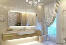 Дизайн интерьера ванной комнаты 15 m2 / Дизайн проект интерьера ванной комнаты в загородном доме. Архитектор Ирина Рихтер. INSIDE-STUDIO Prague