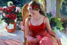 Art Gallery  / My poetic painters