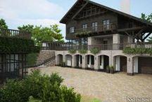 Загородный дом 1150 m2. / Загородный дом 1150 m2. Архитектурный проект. Architect: IRINA  RICHTER. INSIDE-STUDIO Prague