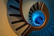 spirals or round staircases