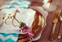 Little Details: Inspirations / Little details can enhance and take your wedding reception to the next level