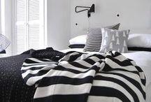 scandi bedroom / stylizacje sypialni