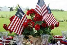 Memorial Day Inspiration / Find great ideas for BBQs, kid activities, and outdoor parties!