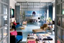 Warehouse Living / Converted commercial and industrial interiors