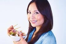 Eat Clean. Ching He-Huang / Wok yourself to health with the help of Ching He Huang and her new cookbook.